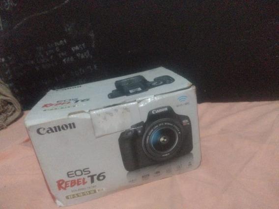 Câmera Canon Semi Profissional T6