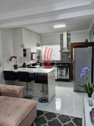 Sobrado Mobiliado Em Condomínio Para Venda No Bairro Vila Antonieta, 2 Dorm, 1 Vaga, 70 Metros. - 6030