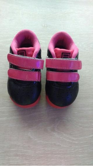 Zapatillas Fila Niña Talle 22 Como Nuevas.