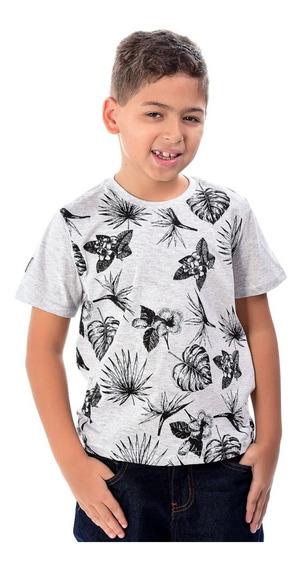 Kit 3 Camisas Camiseta Infantil Menino