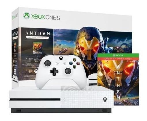 Xbox One S 1tb + Assinatura Xbox Live 12 Meses - Retirada