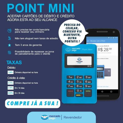 Imagem 1 de 2 de Máquina De Cartão Point Mini Mercado Pago