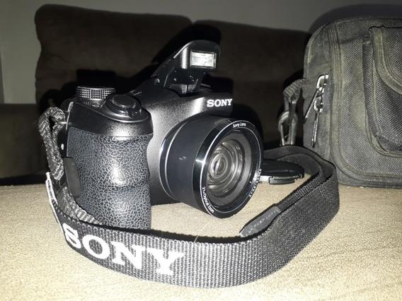 Câmera Digital Sony Cyber-shot Dsc-h100 *super Conservada!!