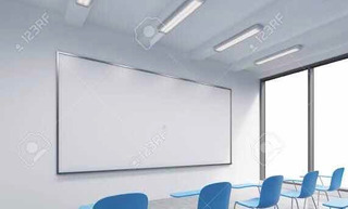 Pintarron Blanco Para Escuela 120x240 Envío A Todo Mexico