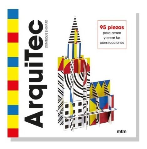 Imagen 1 de 7 de Arquitec 95 Piezas Para Armar