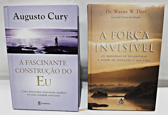 Livros A Força Do Invisível + A Fascinante Construção Do Eu.