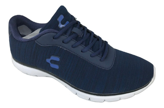 Tenis Charly Hombre 1022419 Deportivo Correr Marino Textil