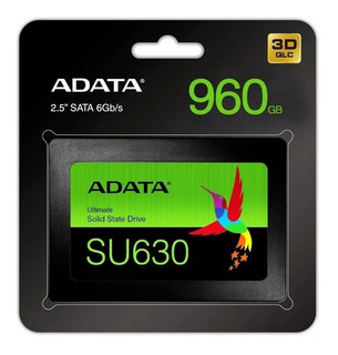 Disco Estado Solido Ssd 960gb Adata Su630 3d Sata 2.5