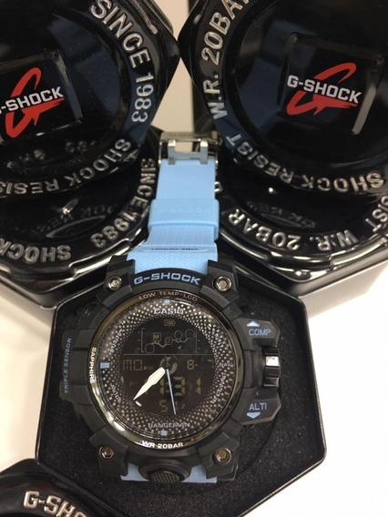 Relógio Esportivo Modelo Shock C/caixa De Brinde + Surpresa