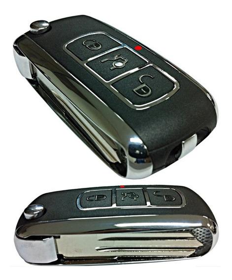 Chave Canivete Metal Cromada Positron Mercedes Polo 293/300