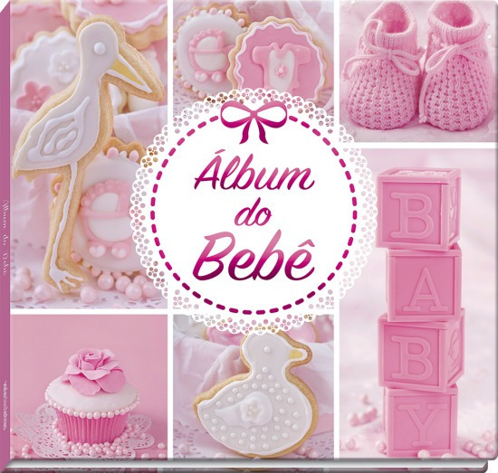 Álbum Do Bebê: Rosa