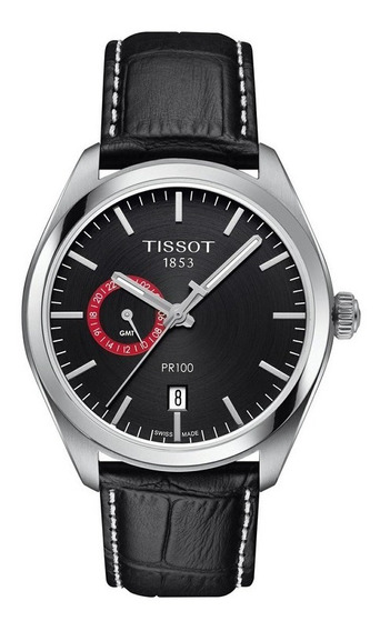 Reloj Tissot Pr100 Dual Time (gmt) Quartz