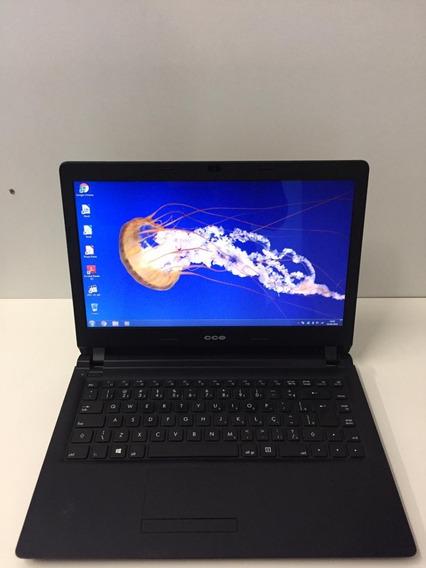Notebook Cce U45 Intel Celeron Dual Core Mem 4gb Hd 500gb Nª2225 Promoção Barato