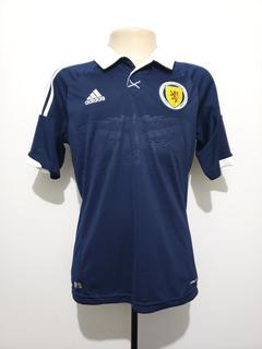 Camisa Futebol Oficial Seleção Escócia 2012 Home adidas G