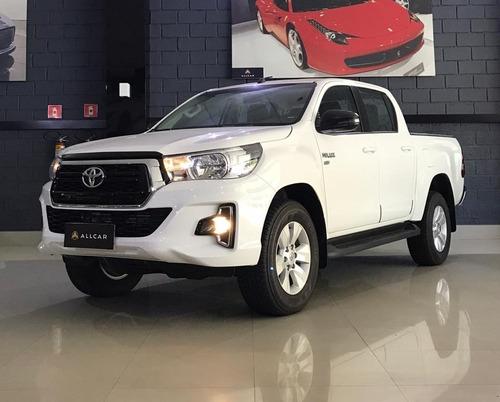 Toyota Hilux Cdsr A2gf Branca 2018/19