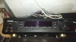 Amplificador Ciclos Av 509 40+40w.impecable.como Nuevo