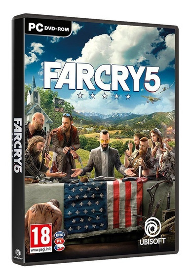 Far Cry 5 Gold Edition + Dead Zombies - Pc Dvd Frete 8 Reais