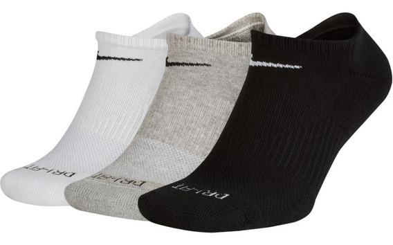 Kit Meia Nike Cotton Cushion Cores