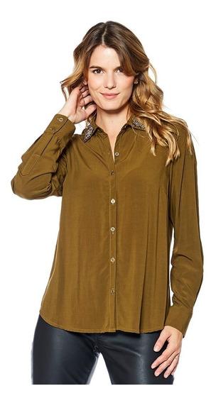 Camisa Tereza Mirta Armesto Mujer Viscosa