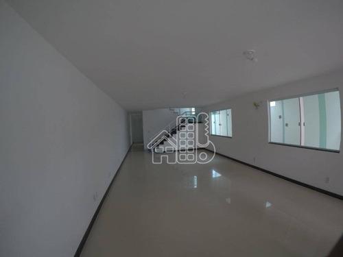 Casa Com 5 Dormitórios À Venda, 291 M² Por R$ 1.750.000,00 - São Francisco - Niterói/rj - Ca1594