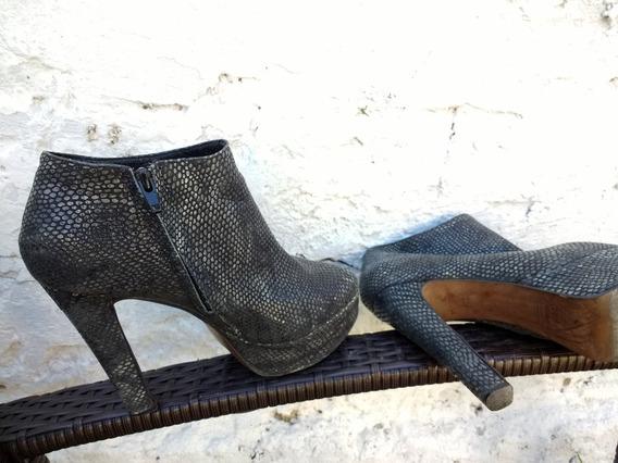Zapatos Botinetas Plataforma Paruolo Divinos