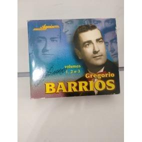 Box Gregorio Barrios Volumes 1,2 E 3 - Raro Original B5