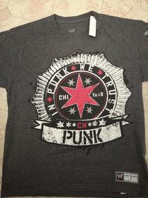 Playera Wwe Cm Punk Talla L Grande De Niño