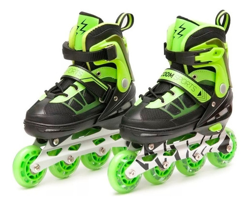 Patines Zoom Sports Electric Verde