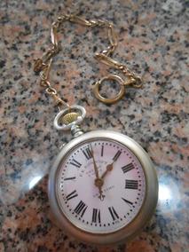 Relógio De Bolso Fe Roskopf Patent Original