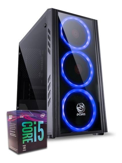 Pc 8ª Geração Core I5 8400 H310m-h 8gb Ddr4 Ssd 240gb 400w