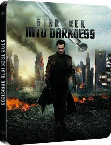 Star Trek Into Darknes Blu Ray Caja Metálica Oferta!!