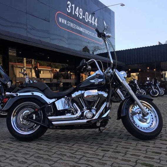 Fat Boy - Preta - 2013 - Harley-davidson