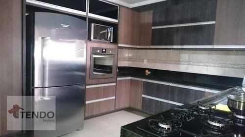 Sobrado Com 3 Dormitórios À Venda, 198 M² Por R$ 480.000 - Núcleo Residencial Professor Carlos Aldrovandi - Indaiatuba/sp - So0497
