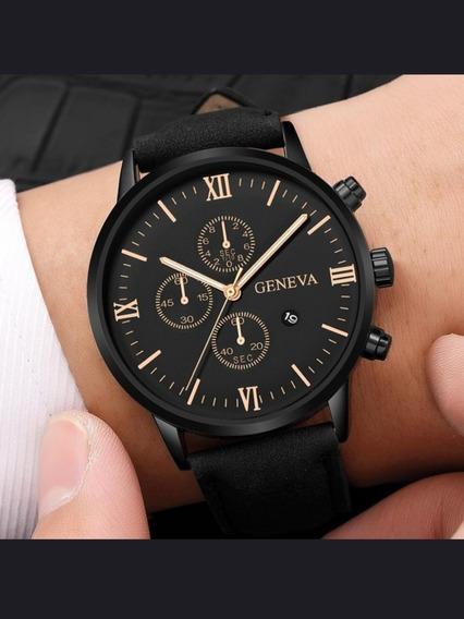 Relógio De Luxo Geneva Importado