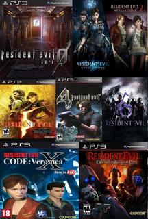 Pack Resident Evil Ps3 Digital