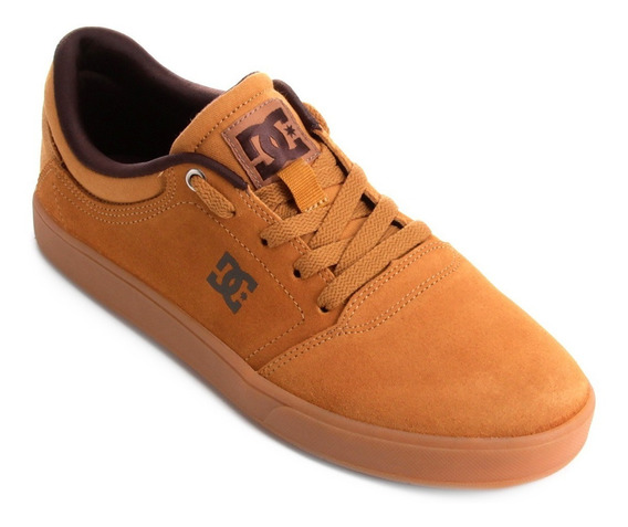 Tênis Dc Shoes Marrom Mostarda Crisis La Caramelo Masculino