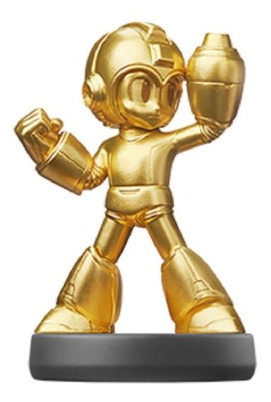 Amiibo Mega Man - Gold Edition - Pronta Entrega