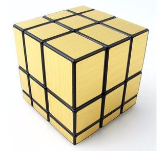 Cubo Rubik Mirror Liso Dorado Gold Como Moyu Qiyi Original