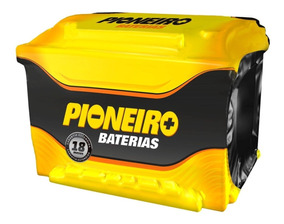 Bateria Carro Pioneiro 75ah 12v Selada Tucson Frontier Ix35