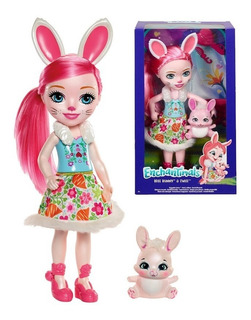 Enchantimals Bree Bunny Grande 31cm Original Nueva