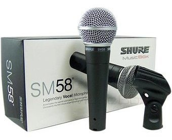 Microfono Shure Sm58 Alambrico
