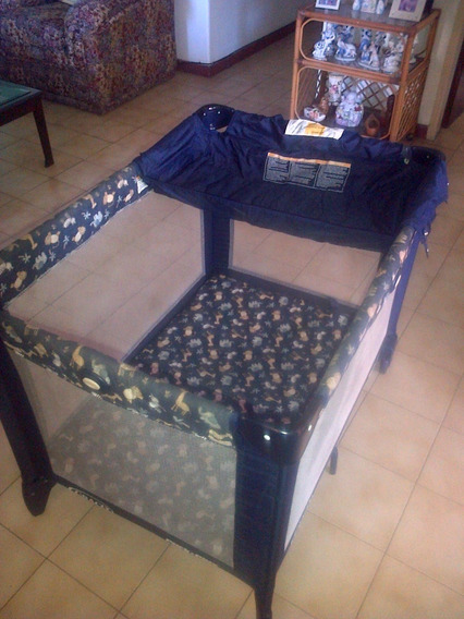 Corral Graco Pack N Play Plegable Usado Forro Original
