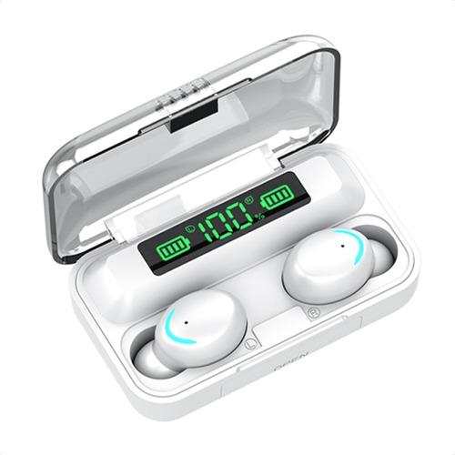 Imagen 1 de 10 de Audífonos Inalámbricos F9 8d Bluetooth 5.0 Tws Deportivos