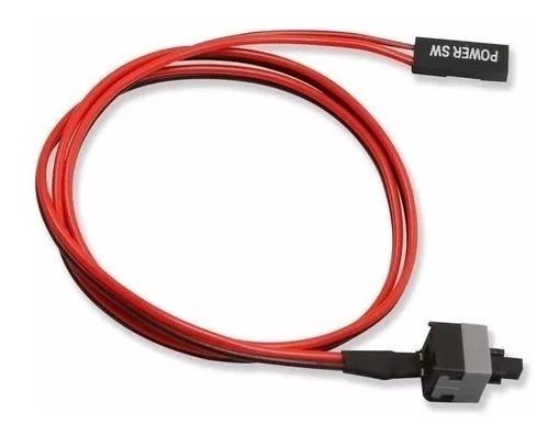 Cabo Pc Power Sw Botão Ligar Casemod Rig Frame Mineracao