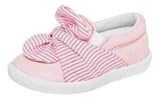 Tenis Little-steps Niña Bebe 905-10 Color Rosa Talla 12-14 S