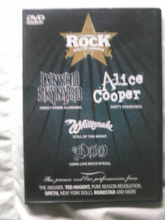 Classic Rock - Dio, Alice Cooper, Whitesnake, Opeth - Dvd