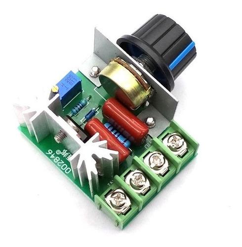 Regulador De Velocidad Variador Dimmer Potencia 2000w 220v