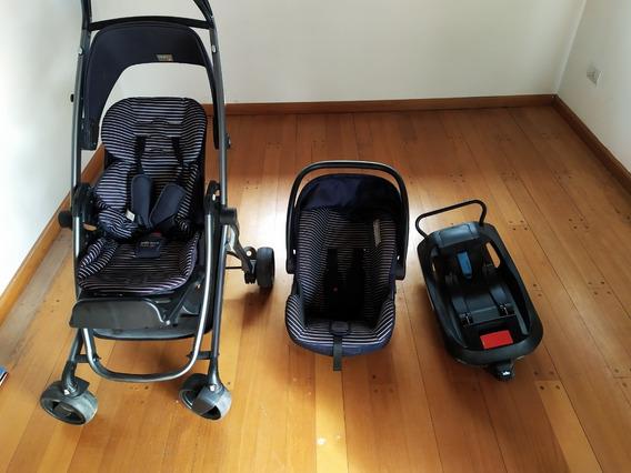 Cochecito Gb Air + Huevito Gb + Base De Auto Car Seat