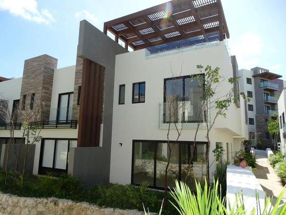 Casa Villa De 3 Recamaras, Roof Garden, Jacuzzi En Lagunas De Ciudad Mayakobà, Playa Del Carmen