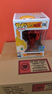 Funko Pop Vegeta Red Chrome Limited Edition #154